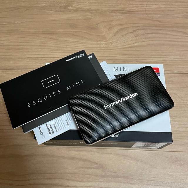 harman/kardonエスクワイアミニBluetoothポータブルスピーカー スマホ/家電/カメラのオーディオ機器(スピーカー)の商品写真