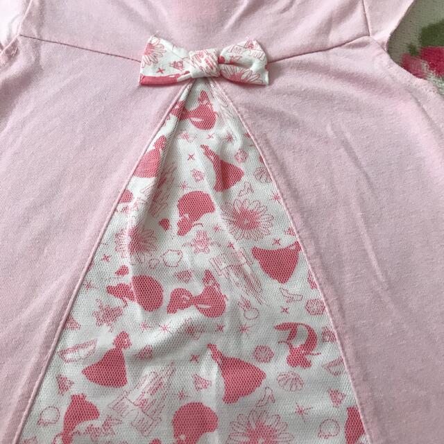 Disney(ディズニー)のディズニープリンセス Tシャツ100♡110 キッズ/ベビー/マタニティのキッズ服女の子用(90cm~)(Tシャツ/カットソー)の商品写真