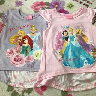 Disney - ディズニープリンセス Tシャツ100♡110