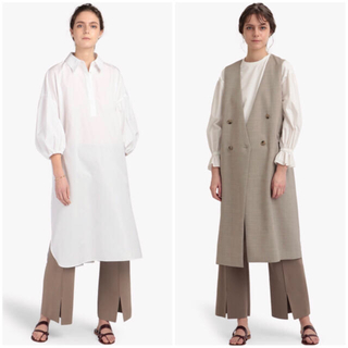 Theory luxe - theory luxe 21SS ウォッシャブル ワイドシルエット ニットパンツ