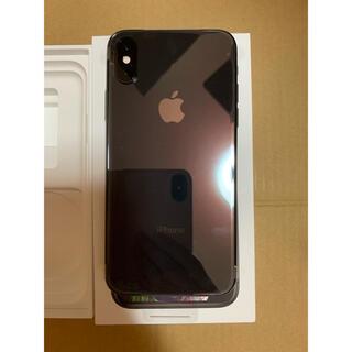 アップル(Apple)のIphone xs 256gb sim free(スマートフォン本体)