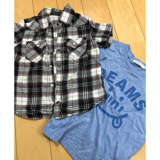 ベベ(BeBe)のべべ ビームスミニ Tシャツ110(Tシャツ/カットソー)