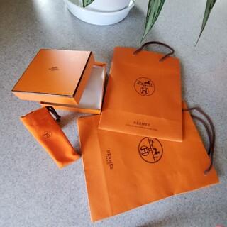 Hermes - エルメスショッピング袋・箱・香水用巾着