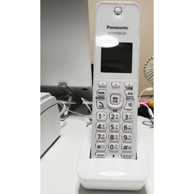 Panasonic(パナソニック)の【美品】パナソニック ファックス(子機1台付き) KX-PZ210D スマホ/家電/カメラのスマートフォン/携帯電話(携帯電話本体)の商品写真