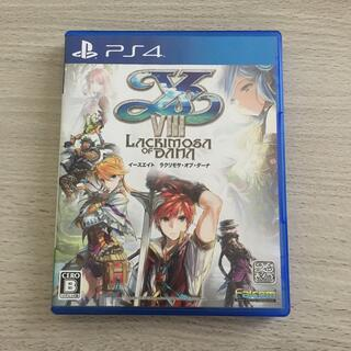PlayStation4 - イースVIII -Lacrimosa of DANA(ラクリモサ・オブ・ダーナ)