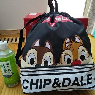チップ&デール - 新品★ディズニー   チップとデール   ナップサック