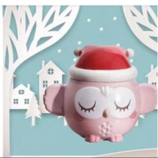 スターバックスコーヒー(Starbucks Coffee)のStarbucks Christmas Owl Mug   New Gift(キャラクターグッズ)