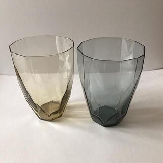 スガハラ(Sghr)のsghr スガハラ ガラス ジネット タン インディゴブルー セット(グラス/カップ)