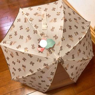 フタフタ(futafuta)のfutafuta フタフタ フタくま 全身柄 お名前ホルダー付き 傘 45cm(傘)