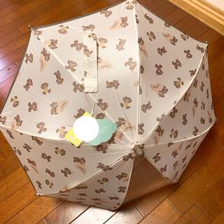 フタフタ(futafuta)のfutafuta フタフタ フタくま 全身柄 お名前ホルダー付き 傘 40cm(傘)