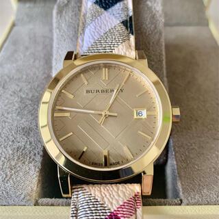 バーバリー(BURBERRY)の[バーバリー]BURBERRY シティ レディース BU9026 ゴールド(腕時計)
