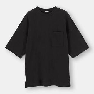 GU - ルーズフィットT(5分袖)