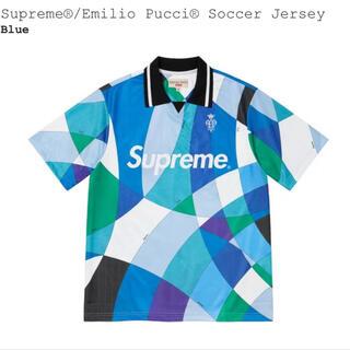 シュプリーム(Supreme)のSupreme / Emilio Pucci Soccer Jersey L(Tシャツ/カットソー(半袖/袖なし))