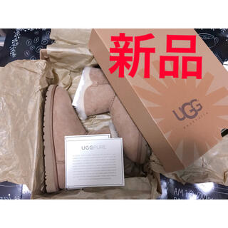 アグ(UGG)のUGG MINI BAILEY BUTTON 3352w(ブーツ)