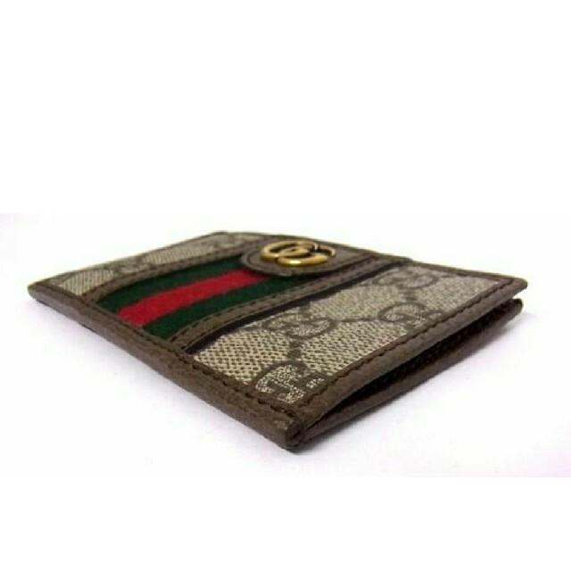 Gucci(グッチ)の■ GUCCI グッチ シェリーライン カードケース パスケース 名仕入れ  メンズのファッション小物(名刺入れ/定期入れ)の商品写真