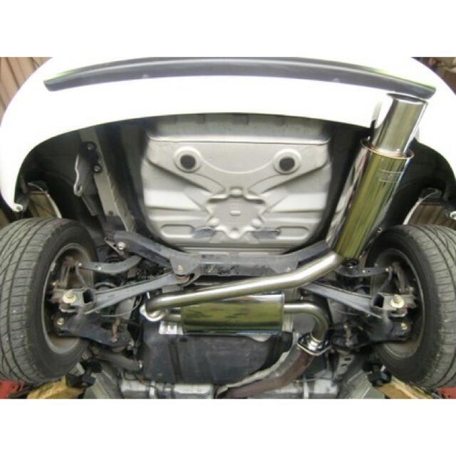 トヨタ(トヨタ)のHKSマフラー silent セリカ ZZT 230 231 自動車/バイクの自動車(車種別パーツ)の商品写真
