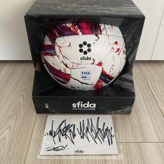 VAIS ULTIMO MEGURU YAMAGUCHI 山口歴 サッカーボール(ボール)