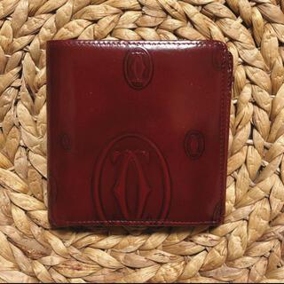 カルティエ(Cartier)の✴︎【中古品】カルティエ 二つ折財布(財布)