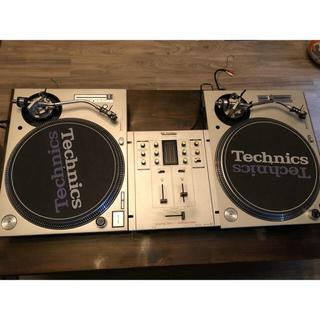 パナソニック(Panasonic)のTechnics ターンテーブル SL-1200MK3D .SH-DJ1200 (ターンテーブル)