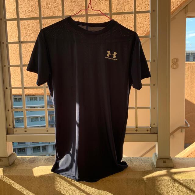 UNDER ARMOUR(アンダーアーマー)のアンダーアーマーTシャツLG美品ダークブルー最激安 メンズのトップス(Tシャツ/カットソー(半袖/袖なし))の商品写真