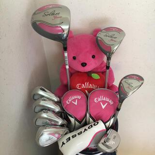 Callaway - ゴルフクラブセット レディース 超人気初心者セット❗️未使用品❗️