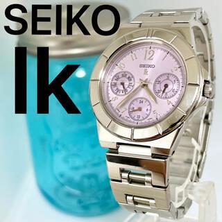 SEIKO - 117 SEIKO ルキア時計 レディース腕時計 紫 パープル 3点カレンダー