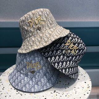 ディオール(Dior)のハット2枚12000 Christian Dior 帽子#005(ハット)