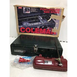 コールマン(Coleman)の◆ Coleman コールマン パワーハウス ツーバーナー 413H グリーン(ストーブ/コンロ)