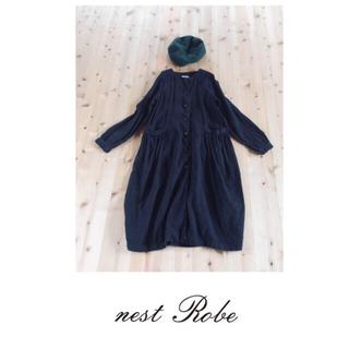 nest Robe - ネストローブ  nestrobe リネン コート ワンピース
