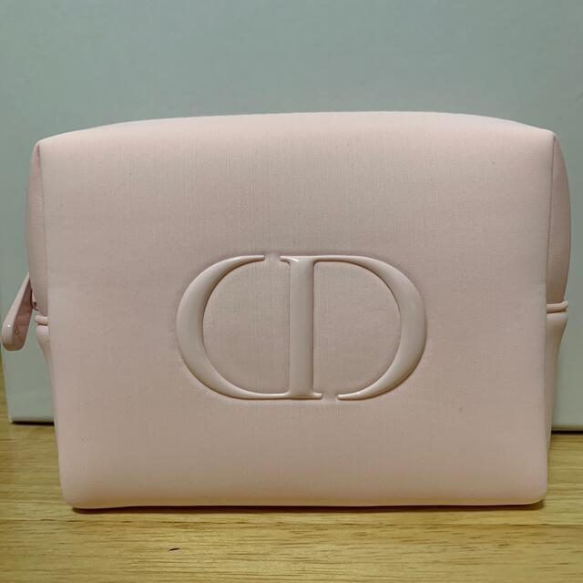 Dior(ディオール)のディオール ポーチ ノベルティ ピンク レディースのファッション小物(ポーチ)の商品写真