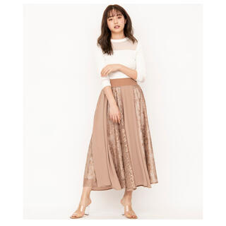 アンドクチュール(And Couture)の【新品】スカート(ロングスカート)