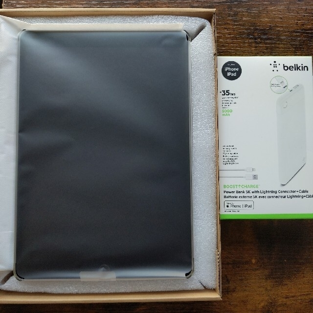 iPad(アイパッド)のiPad Pro 10.5 Wi-Fi 64GB シルバー モバイルバッテリー付 スマホ/家電/カメラのPC/タブレット(タブレット)の商品写真