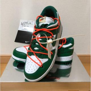 【新品】NIKE ダンクロー Nike x Off-White 27.5cm(スニーカー)