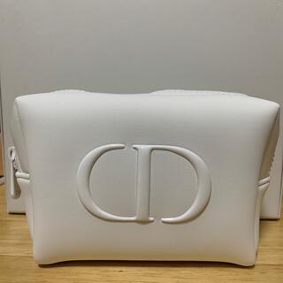 Dior - ディオール ポーチ ノベルティ ホワイト