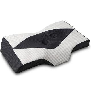 枕 安眠 肩がラク 低反発 まくら 中空設計 プレゼント 洗える 横向き 仰向き