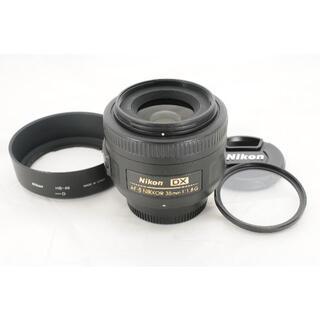 Nikon - 【明るく美しいボケ】Nikon ニコン AF-S 35mm F1.8 フィルター