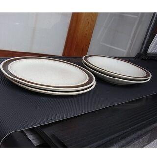ディナープレート&スープ皿(各2枚)(食器)