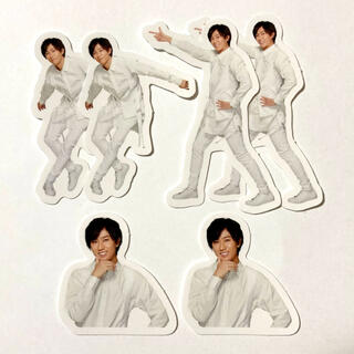 Johnny's - Snow Man ポートレートシリーズ フレークシール 阿部亮平 3枚×2セット