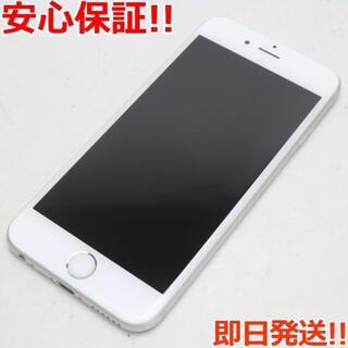 アイフォーン(iPhone)の超美品 SIMフリー iPhone6S 16GB シルバー (スマートフォン本体)