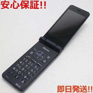 シャープ(SHARP)の美品 SH-01J AQUOS ケータイ ブルーブラック (携帯電話本体)
