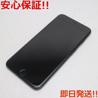 アイフォーン(iPhone)の美品 SOFTBANK iPhone7 PLUS 32GB ブラック (スマートフォン本体)