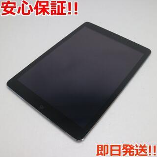 アップル(Apple)の新品同様 iPad Air Wi-Fi 16GB グレイ (タブレット)