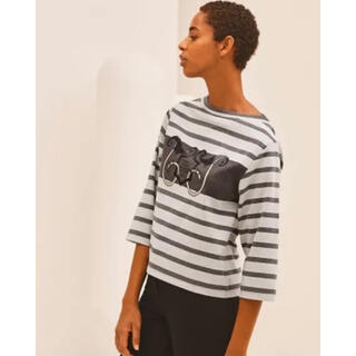 Hermes - 2021SS HERMES/エルメス リゾートコレクションTシャツマリニエール