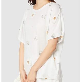 gelato pique - 未開封 ジェラートピケ ランドリーベアTシャツ PWCT201289 レディース
