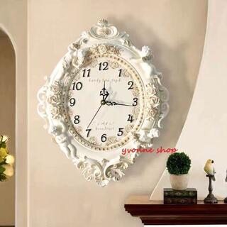 高級クロック 壁掛け時計 かけ時計 姫系雑貨(掛時計/柱時計)