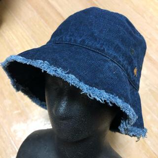 フォーティーファイブアールピーエム(45rpm)の良品 R by 45rpm インディゴ バケット ハット 帽子 2(ハット)