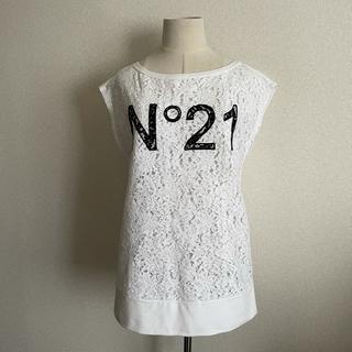 ヌメロヴェントゥーノ(N°21)の【N°21ヌメロヴェントゥーノ】カットソー♡チュニック(Tシャツ(半袖/袖なし))