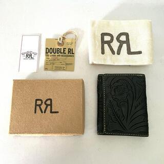 RRL - RRL Indigo Leather Wallet