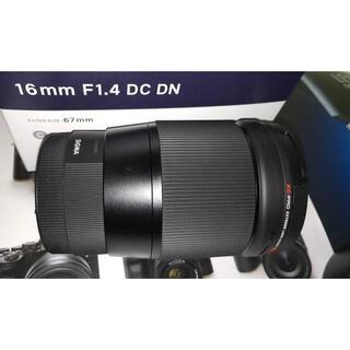 SIGMA - SIGMA 16mm F1.4 DC DN