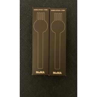 モマ(MOMA)のスプーンフォーク スガキヤ MOMA ramen spoon+fork  モマ(スプーン/フォーク)